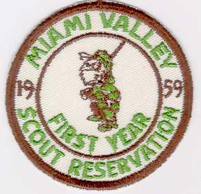 Boy Scouts of America BSA Baltimore Area Broad Creek Catholic 1991 Pin